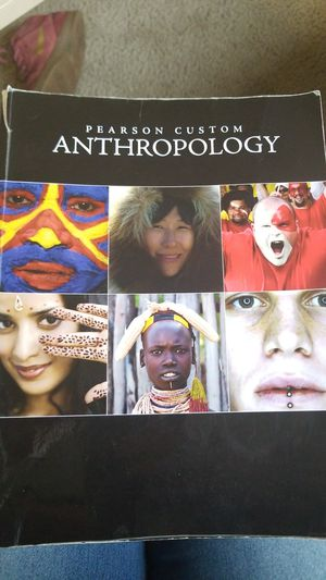 Pearson custom anthropology for Sale in Seattle 80a99b483