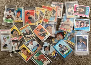 Cash paid for old Baseball basketball football hockey cards before the 80s for Sale in Brea, CA