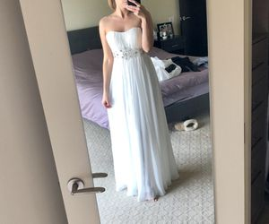 Beautiful white wedding or prom dress for Sale in Los Angeles, CA