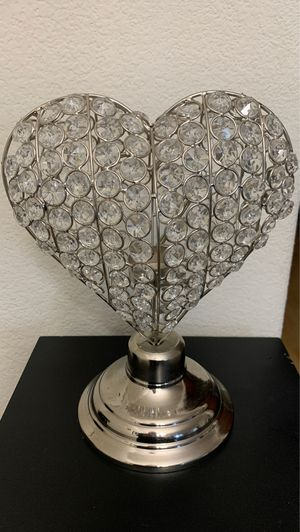 Glam heart candle holder for Sale in Seaside, CA