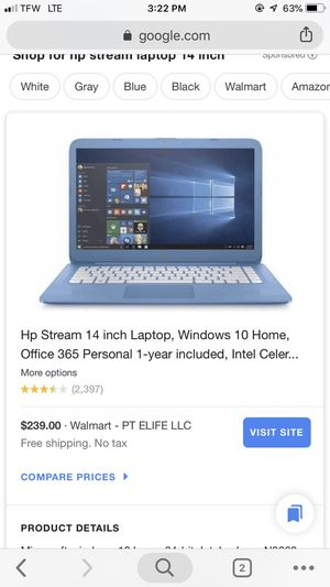 Hp stream 14 inch for Sale in Bend, OR