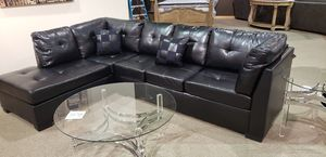 COASTER DARIE BLACK SECTIONAL 500606 for Sale in Fort Worth, TX