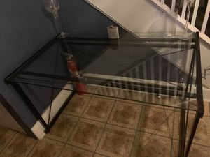 Glass Foyer/Console table for Sale in Washington, DC