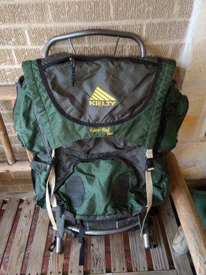 Kelty Yukon Reg 2900 Size 2 External Frame Hiking Backpack Evergreen 21040020 for Sale in Garland, TX