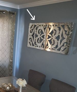 Mirrored wall decor 2 for $75 for Sale in The Bronx, NY