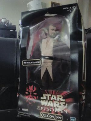 Star Wars Episode 1 Qui-Gon Jinn 1998 action figure for Sale in Austin, TX