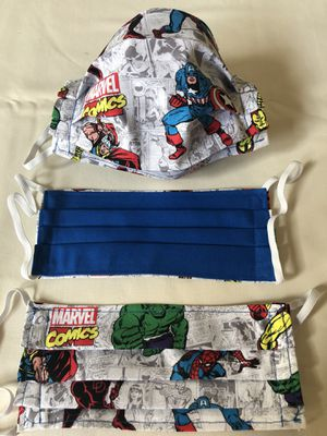 Marvel Comics Face Masks with Avengers for Sale in North Las Vegas, NV
