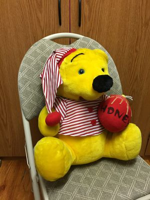 Winnie the Pooh soft plushie , measure 18 inch High, good condition, for Sale in Union, NJ