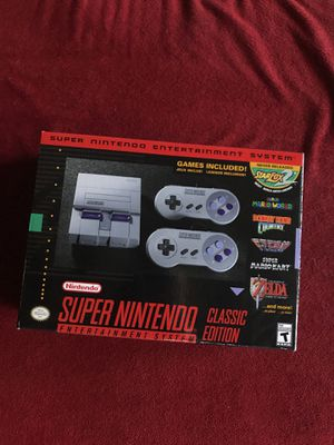 Super Nintendo classic edition for Sale in Austin, TX