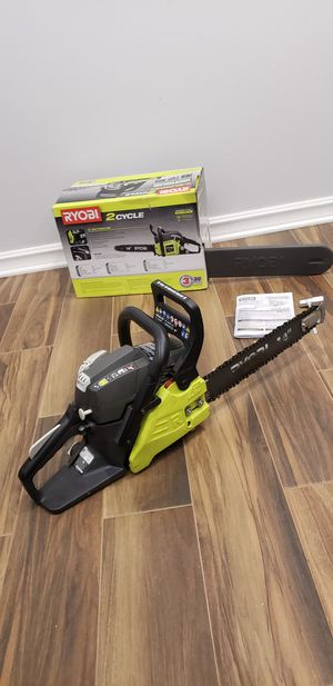 Ryobi 14in gas chainsaw for Sale in Corona, CA