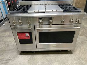 "New! Monogram 48"" Built In Dual Fuel Range Stove Oven! 1 Year Manufacturer Warranty Included for Sale in Gilbert, AZ"
