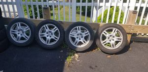 5 lugs rims and tires for $225 for Sale in Elmsford, NY