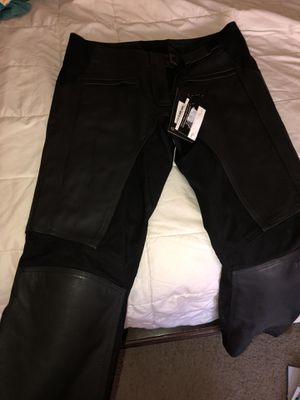 Triumph leather motorcycle pants Medium for Sale in Chandler, AZ