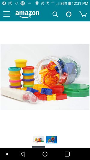 Childrens Play Dough Cutter Set with Numbers & Animal Cutter Shapes & Rolling Pin kids toys for Sale in Weston, FL