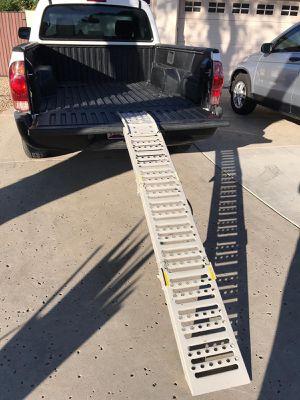 Ramp / folding motorcycle dirt bike ramp / foldable for Sale in Glendale, AZ