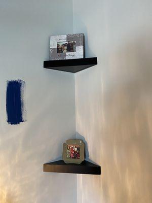 Dark brown corner shelves x4 for Sale in Los Angeles, CA