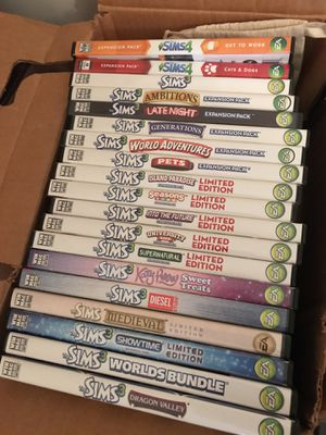 sims collection for Sale in Manassas, VA