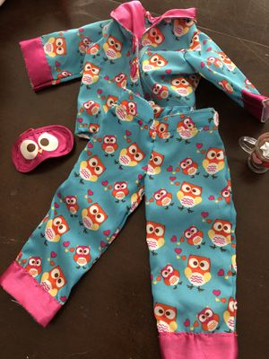 our Generation Doll PJ's & raincoat with boots for Sale in North Andover, MA