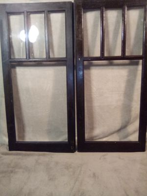 Antique glass cupboard doors for Sale in Pittsburgh, PA