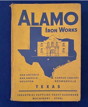 "Alamo Iron Works Vintage Sales Catalog ""G"" 1960 for Sale in San Antonio, TX"