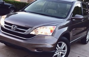 FOR SALE SILVER HONDA CRV YEAR 2010 4 DOORS SIDE AIRBAGS for Sale in Plano, TX