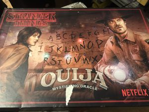 Stranger things ouija board game for Sale in Thousand Oaks, CA