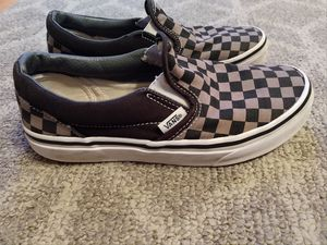 Boys Vans slip on shoes for Sale in Mundelein, IL