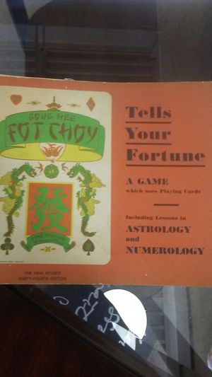 1948 GONG HEE FOT CHOY FORTUNE BOOK for Sale in Pittsburgh, PA
