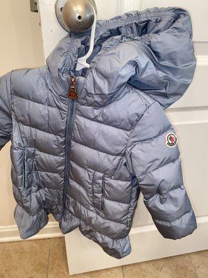 Toddler Moncler coat for Sale in La Plata, MD