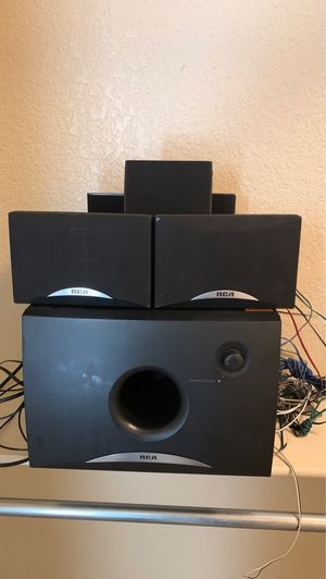 RCA (7 speakers) and subwoofer for Sale in AR, US