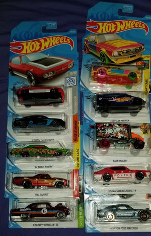 2019 HOTWHEELS NEW IN CARD FIRM PRICE for Sale in Pico Rivera, CA