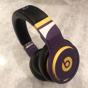 purple yellow custom beats by dre PRO headphones for Sale in Los Angeles, CA