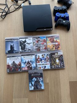 PS3 With 10 Games for Sale in Portland,  OR