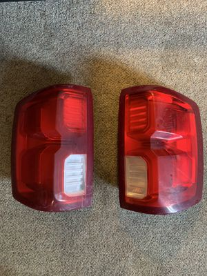 2017 Chevy Silverado High Country LED Tail Lights for Sale in Marlborough, MA