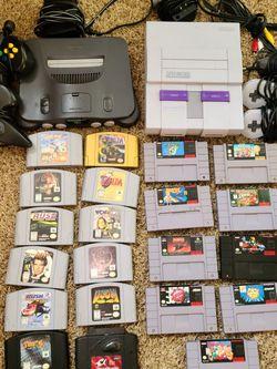 Nintendo 64 & Super Nintendo for Sale in Monroe,  WA
