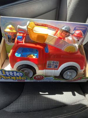Little people lift & lower fire truck with sounds NEW for Sale in Lake Forest, CA