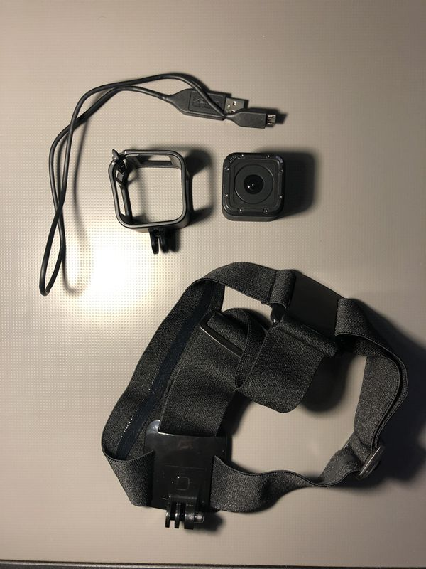 GoPro Hero Session with accessories