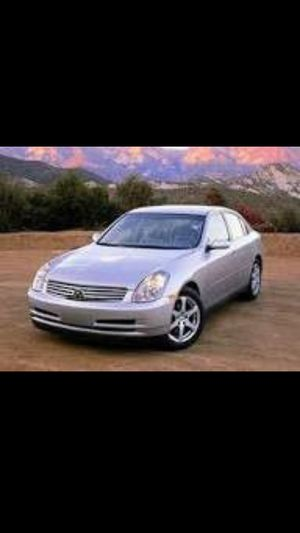 2003 Infiniti g35 parting out. Great Deals!! for Sale in Vancouver, WA