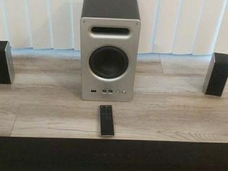 """VIZIO 36"""" 5.1.2 Home Theater Sound System with Dolby Atmos High End Wireless Subwoofer 5.1 Surroundsound Speaker System! 299$ OBO (Retail At 499$) for Sale in Chatsworth,  CA"""