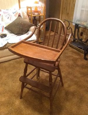 Antique Wooden High Chair for Sale in Pickens, SC