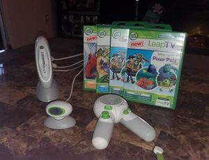 LeapTV game system for Sale in Fresno, CA