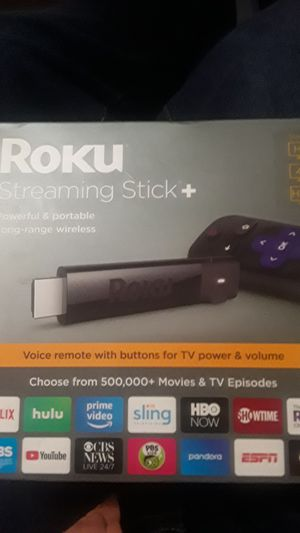Roku Streaming Stick + NEW! for Sale in Manteca, CA