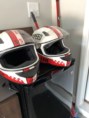 Two motorcycle helmets. for Sale in Lawrenceville, GA