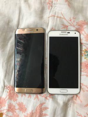 Samsung galaxy S7 edge and Samsung galaxy S5 for Sale in San Jose, CA