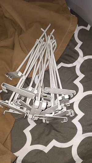 Metal hooks for shelving for Sale in El Cajon, CA