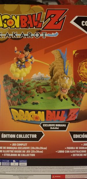DragonBall Z Kakarot Collector's Edition DIORAMA STATUE ONLY for Sale in Joliet, IL