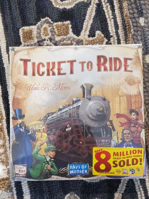 Ticket to ride board game brand new in plastic for Sale in Elgin, IL