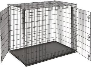 XL dog kennel with separator for Sale in Otsego, MN
