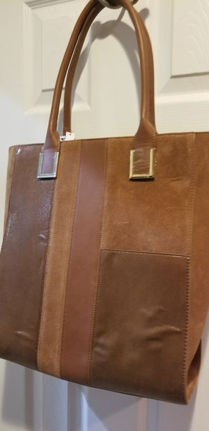 Authentic leather brown bag for Sale in Woodbridge, VA