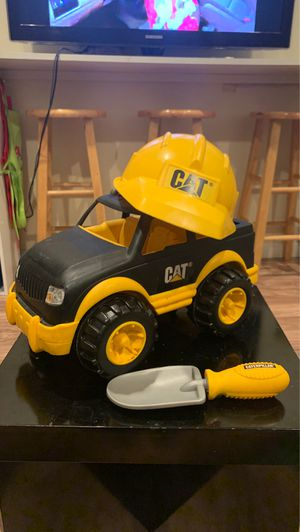 """""""Cat"""" hard hat shovel and truck for Sale in Stockton, CA"""